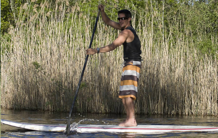 SUP in Montalivet