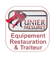 material restauration traiteur